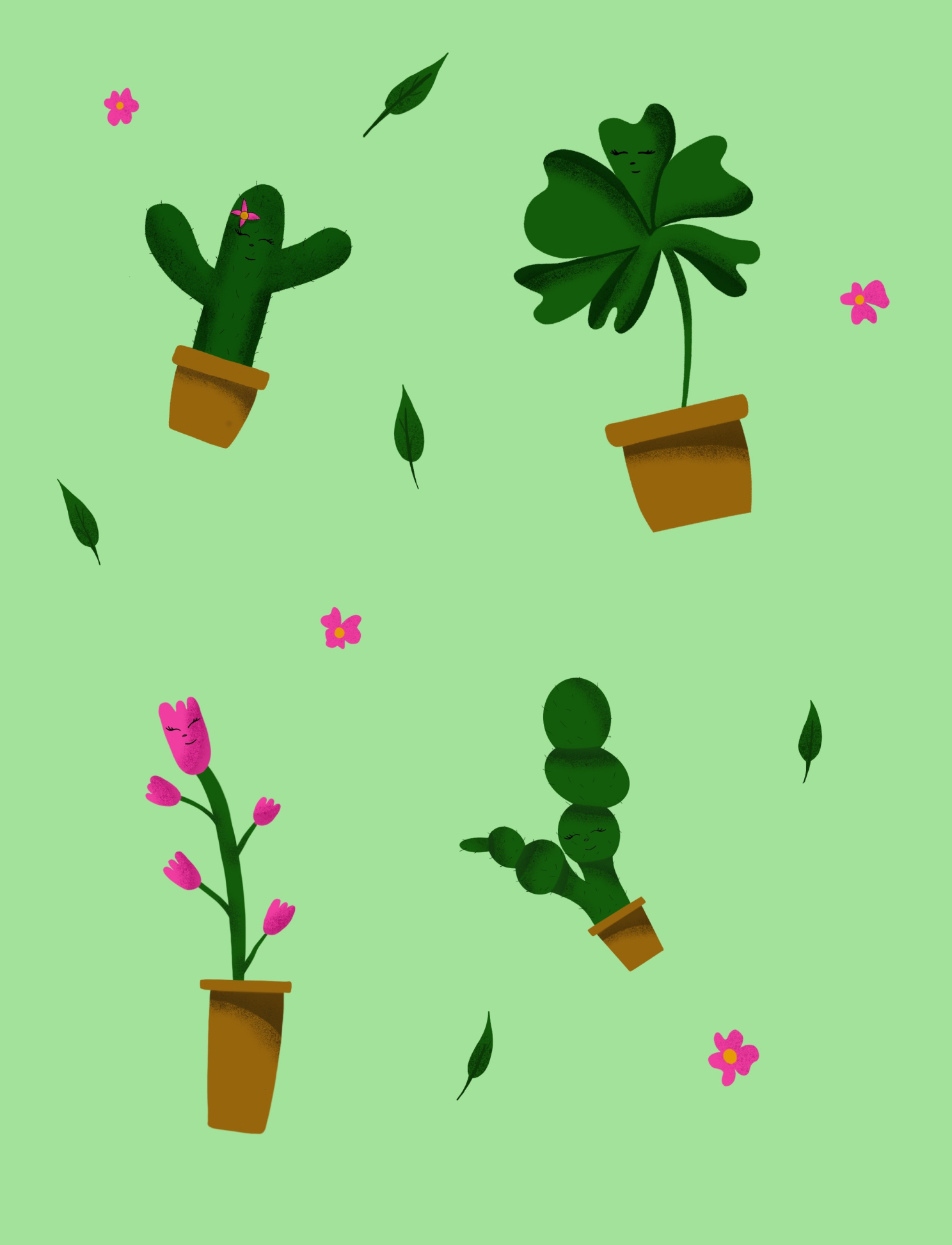 Illustration de cactus